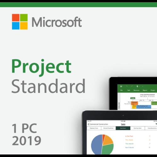 Microsoft Project Standard 2019