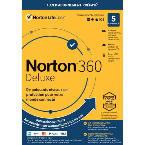 Norton 360 Security Deluxe 2020