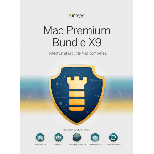 Visuel Boîte Intego Mac Premium Bundle X9