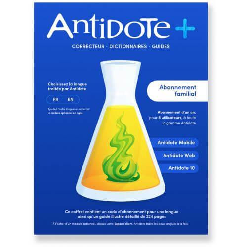 Antidote+ Familial 2021