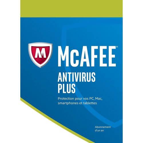 Mcafee Antivirus Plus 2018