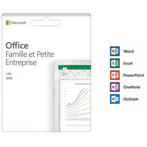 Microsoft Office 2019 Famille et Petite Entreprise - PC/Windows 10