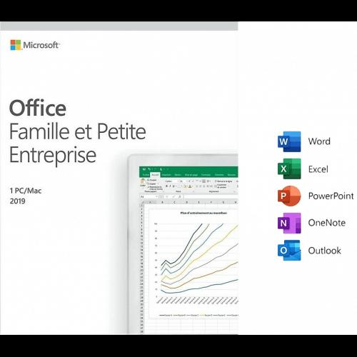 Microsoft Pack Office Famille et Petite Entreprise 2019