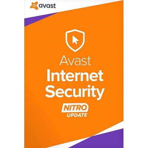 AVAST INTERNET SECURITY 2017 (1,2,3 Postes)