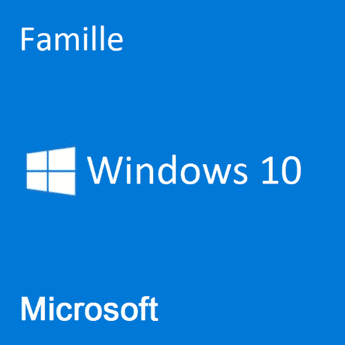 Code licence Windows 10 Famille
