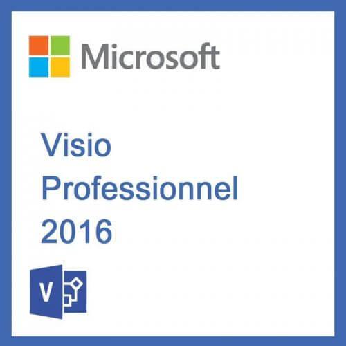 Visio 2016 Professionnel - PC