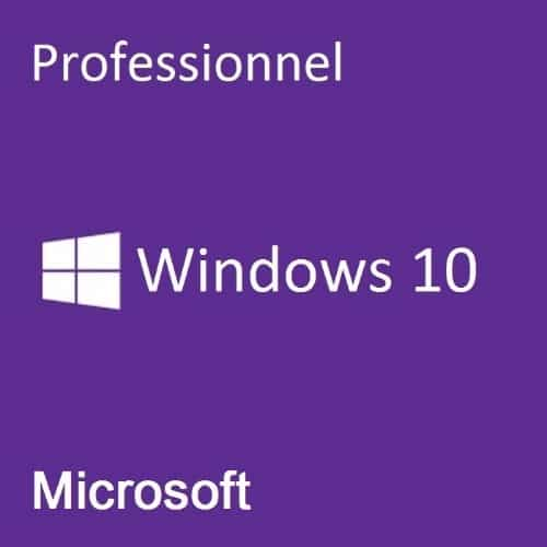Licence d'activation Windows 10 Professionnel