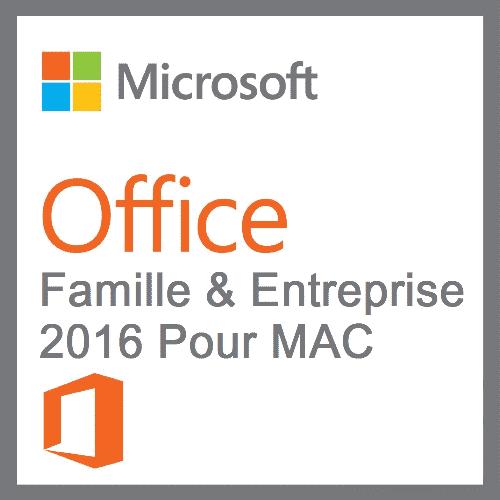 Office 2016 Famille Et Petite Entreprise - MAC