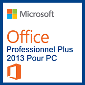 Microsoft Pack Office Professionnel Plus 2013
