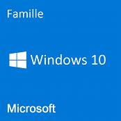 Windows 10 Famille - (32 Bits)