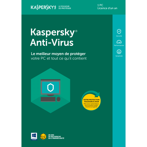 Kaspersky Internet Security 2020 OEM - 1 Poste