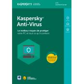 OEM Kaspersky Antivirus - 1 Poste