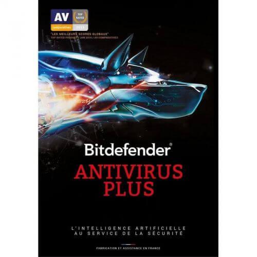Bitdefender Antivirus Plus 2018 (1 Poste)