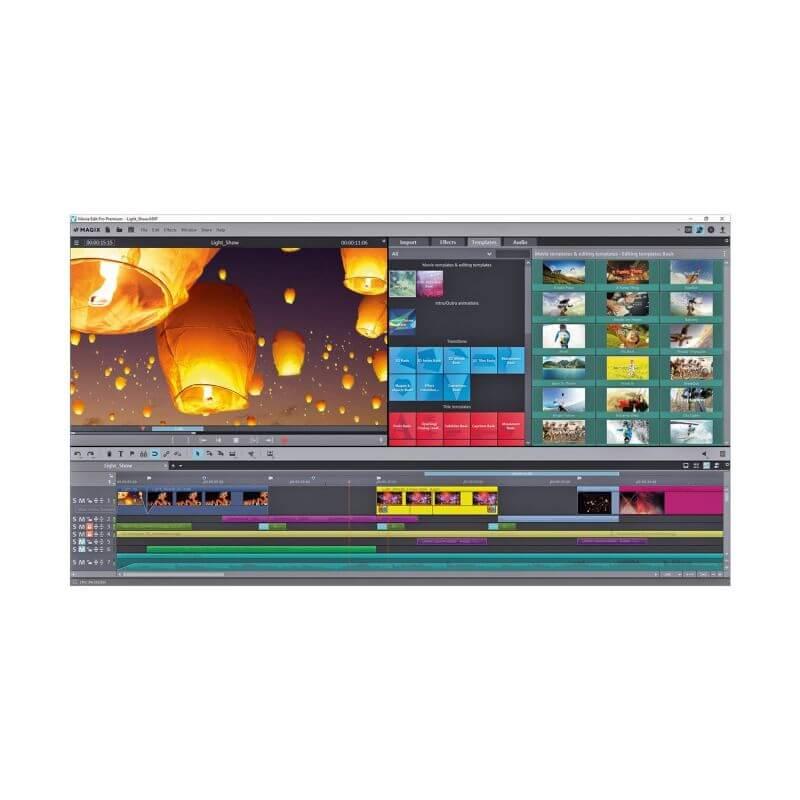MAGIX Vidéo deluxe Premium Montage vidéo simple & rapide avec édition directe & effets Premium Nouveau Vidéo deluxe Premium: Service de mise à jour / Mise à niveau Montage vidéo simple & rapide avec édition directe & effets Premium