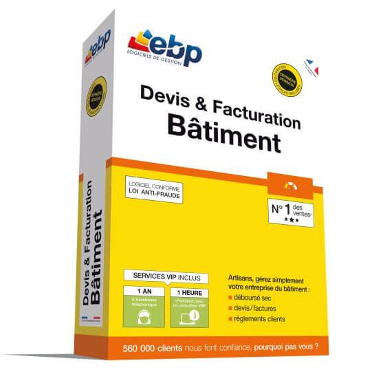 EBP Devis & Facturation Bâtiment OL 2018 + Services VIP
