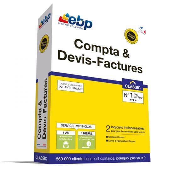 EBP Compta et Devis-Factures Classic 2018 + Services VIP