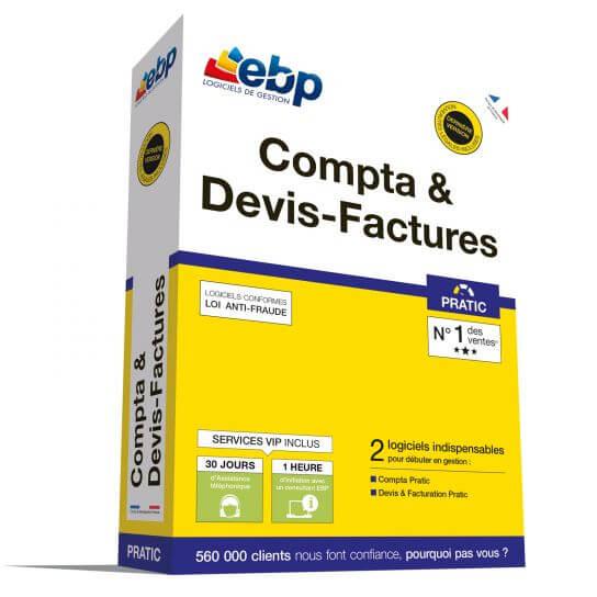 EBP Compta & Devis-Factures Pratic 2018 + Services VIP