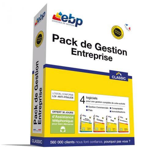 EBP Pack de Gestion Entreprise Classic 2018