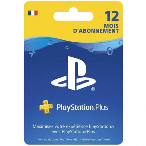 Abonnement Playstation Plus 12 Mois PSVita-PS3-PS4