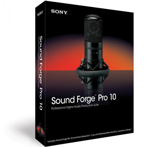 Sony Sound Forge Pro 10 anglais