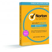 Norton Security 2019 Deluxe - 3 Appareils - 1 An