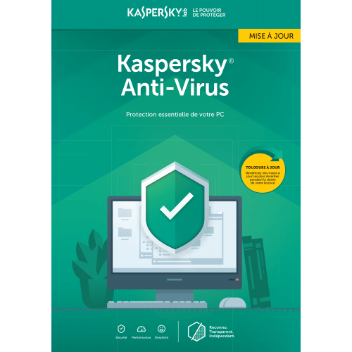 Kaspersky Antivirus Mise à jour 2019